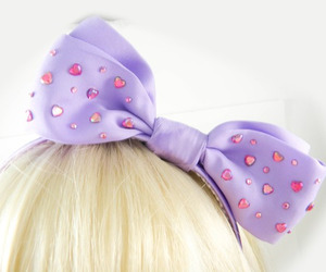 bow, cute, and hair image