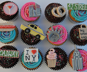 cupcakes, new yourk, and twelve image