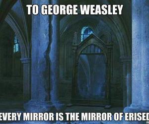 harry potter, george weasley, and sad image