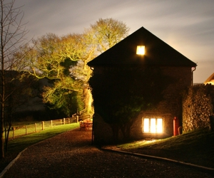 house and light image