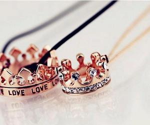 love, crown, and accessories image
