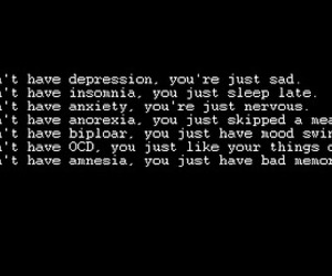 anorexia, anxiety, and denial image