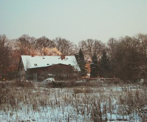 beautiful, winter, and cottage image