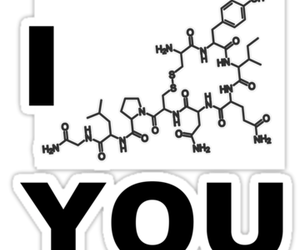 <3, chemistry love, and i oxytocin you image