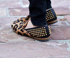 shoes, fashion, and studs image