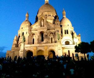 church, sacre couer, and paris image