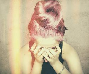 awesome, crazy, and messy bun image
