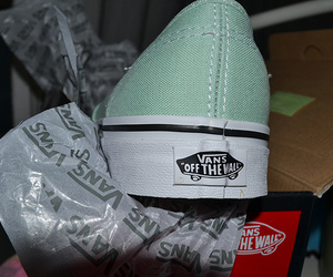color, mint, and vans image