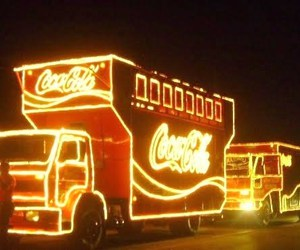 coke and truck image