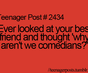 funny, teenager post, and comedian image