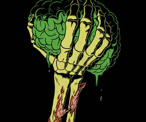 brain and zombie image