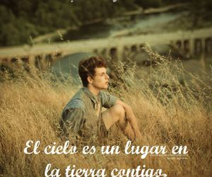 amor, cielo, and frase image
