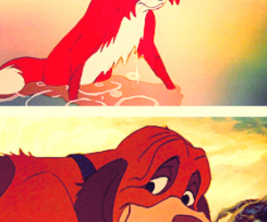 the fox and the hound and tod and copper image