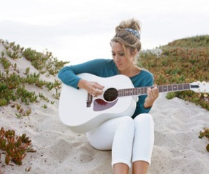 beach, blonde, and colbie caillat image