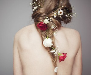 accessory, beautiful, and flower image