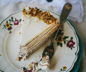 cake, delicious, and photography image