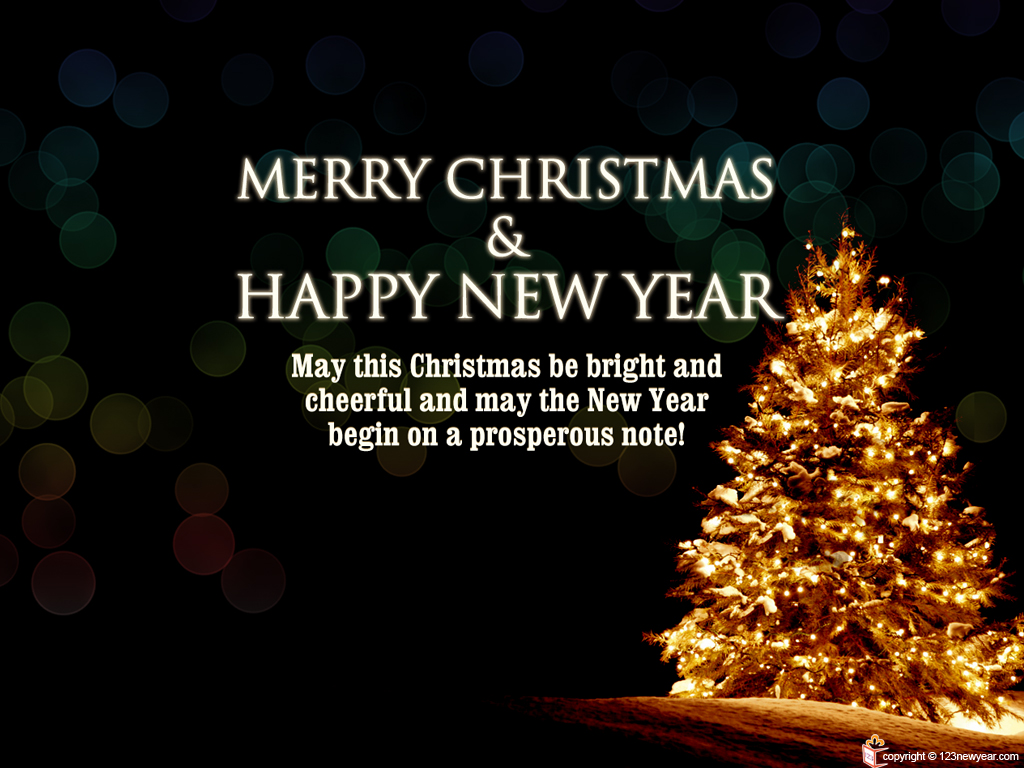 Merry christmas and prosperous new year wallpaper m4hsunfo