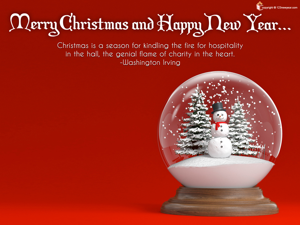 Merry Christmas Wishes Wallpaper Uploaded By Newyear Celebration