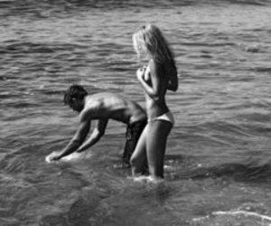 beach, girlfriend, and summer image