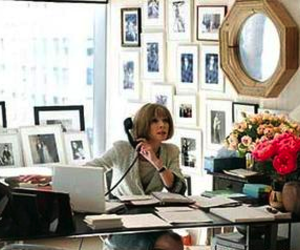 vogue, Anna Wintour, and office image