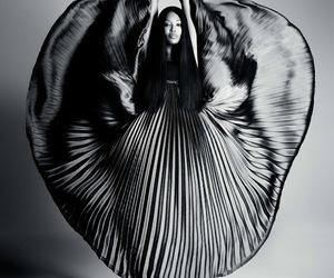 model, dress, and naomi image