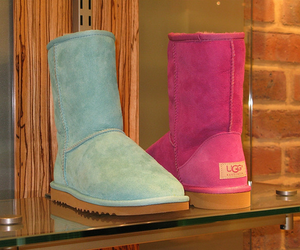 pink, ugg, and blue image