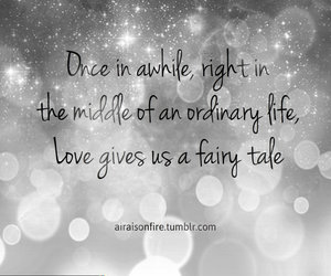 love, quote, and fairy tale image