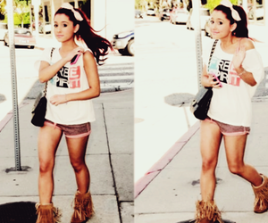 ariana grande, cute, and outfit image
