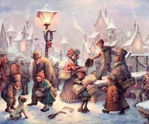 art, gift, and merry christmas image