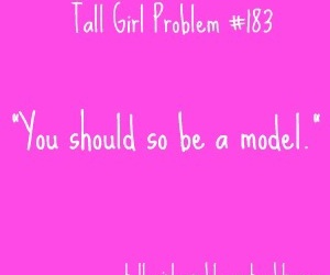girl, problems, and tall image