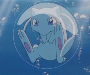 mew, pokemon, and bubble image