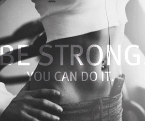 be strong, tummy, and trained image