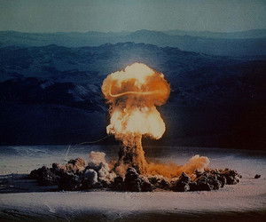 explosion and bomb image