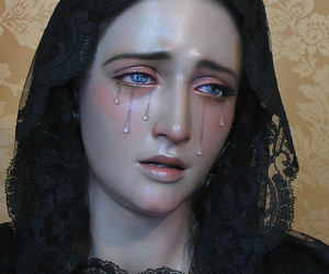 art, cry, and tears image