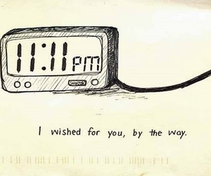 wish, love, and 11:11 image