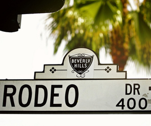 Beverly Hills, rodeo drive, and photography image