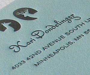 id, letterpress, and vcard image
