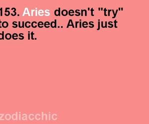 aries, success, and zodiac image