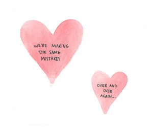 quote, love, and mistakes image