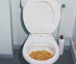 food, grunge, and toilet image