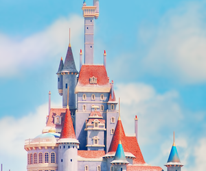 beauty and the beast, disneyland, and disney parks image