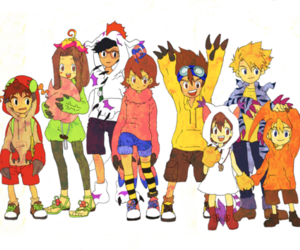 digimon and cosplay image