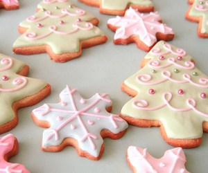 christmas, Cookies, and delicious image