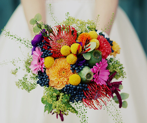 beautiful, bouquet, and inspirational image
