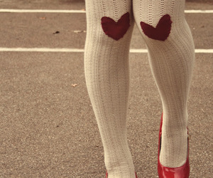 hearts, shoes, and fashion image
