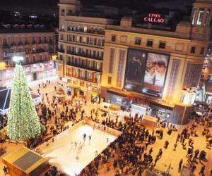 europe, spain, and christmas in madrid image
