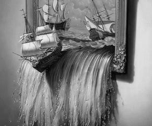 art, narnia, and water image