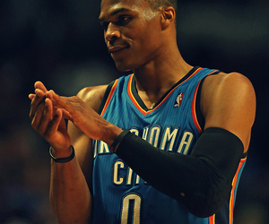 Basketball, russel westbrook, and NBA image