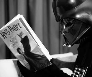 harry potter, star wars, and darth vader image