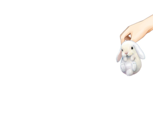 cute and bunny image
